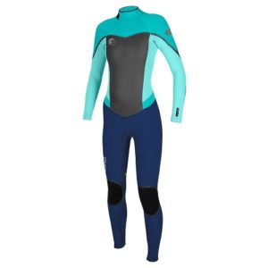 302fe0bd32 O Neill Women s Flair 3 2mm Back Zip Full Wetsuit - Front