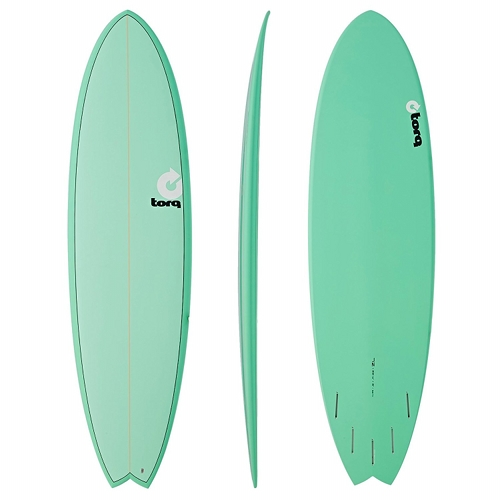 TORQ Fish Surfboard Bonzer 5 Fin Setup 7ft 2 - Mint  57ddf6119d5c