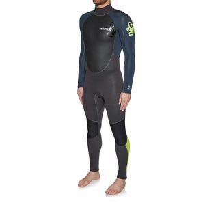 C-Skins Men's Element 3:2mm Back Zip Full Wetsuit - Front