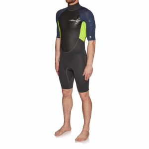 C-Skins Men's Element 3:2mm Back Zip Spring Wetsuit Blue
