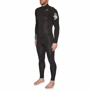 C-Skins Men's Session 3:2mm Chest Zip Full Wetsuit - front