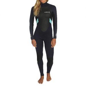 C-Skins Women's Element 3:2mm Back Zip Full Wetsuit - Front