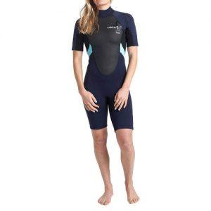 C-Skins Women's Element 3:2mm Back Zip Spring Wetsuit - Front