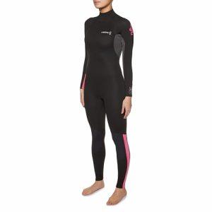 C-Skins Women's Surflite 3:2mm Back Zip Full Wetsuit - Front