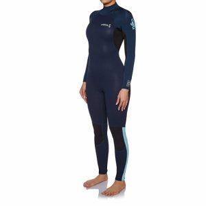 C-Skins Women's Surflite 4:3mm Back Zip Full Wetsuit - Front