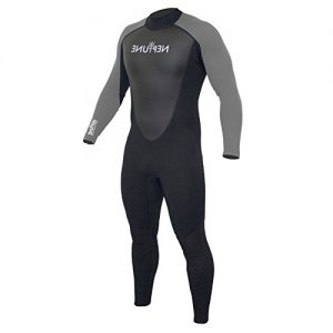 GUL Men's Neptune 3:2mm Full Wetsuit Grey - Front