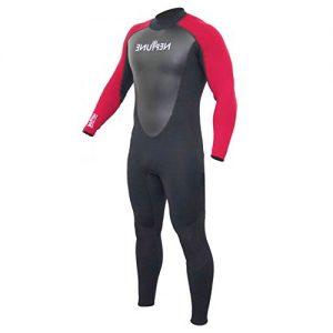 GUL Men's Neptune 3:2mm Full Wetsuit Red - Front