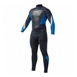 GUL Men's Neptune 5mm Full Wetsuit Blue - Front