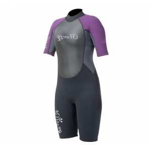 GUL Women's G-Force 3:2mm Back Zip Spring Wetsuit - Front