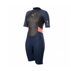 GUL Women's Response 3:2mm Back Zip Spring Wetsuit - Front