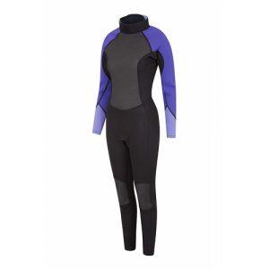 Mountain Warehouse Women's 3:2mm Back Zip Full Wetsuit - Front