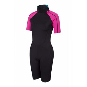 Mountain Warehouse Women's 3:2mm Back Zip Spring Wetsuit - Front