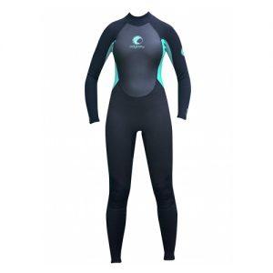 Odyssey Women's Core 3mm Back Zip Full Wetsuit - Front
