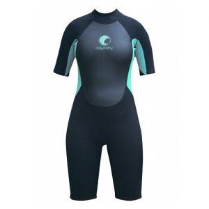 Odyssey Women's Core 3mm Back Zip Spring Wetsuit - Front