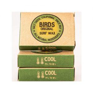 Birds Original Surfboard Wax Triple Pack - Cool Water