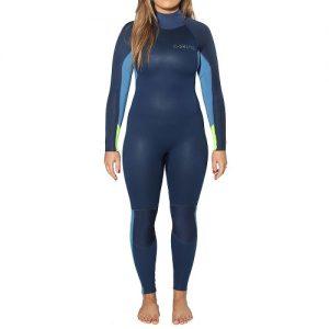C-Skins Women's Surflite 5:4:3mm Back Zip Full Wetsuit