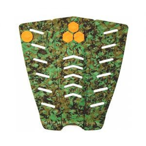 Channel Islands 3-Piece Parker Coffin Surfboard Tail Traction Pad - Camo