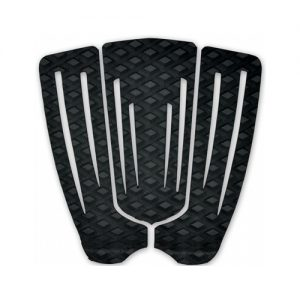 Channel Islands 3-Piece Surfboard Tail Traction Pad - Black