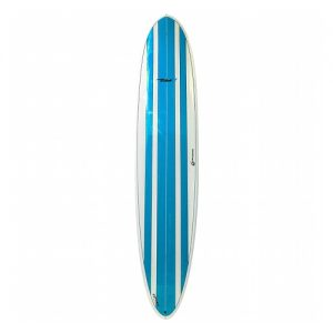 Circle One Longboard Surfboard Thruster Fin Setup 9ft - Blue