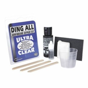 Ding All Standard Surfboard Repair Kit - Clear