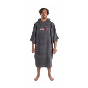 Dryrobe Adults Changing Robe Poncho - Grey