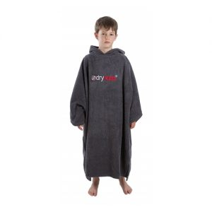 Dryrobe Kid's Changing Robe Poncho - Grey