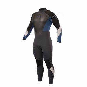 GUL Men's Response 4:3mm Back Zip Full Wetsuit