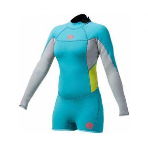 GUL Women's Surflite 2mm Back Zip Long Sleeve Spring Wetsuit