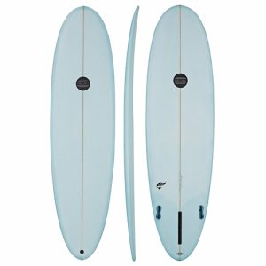 Maluku Mini Mal Thruster Fin Setup 8ft 6 - Blue