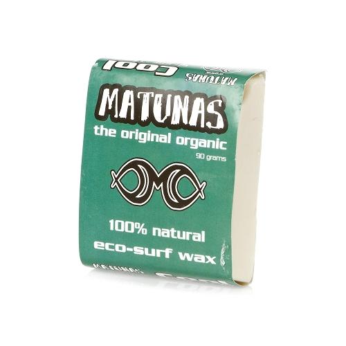 Matunas Surfboard Wax Single Pack - Cool Water