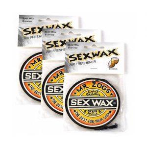 Mr Zog's Sex Wax Coconut Air Freshener - Triple Pack