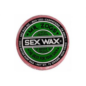 Mr Zogs Sex Wax The Original Cold Water Single Pack