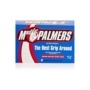 Mrs Palmers Surfboard Wax Single Pack - Warm Water