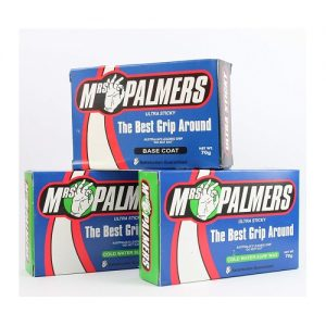 Mrs Palmers Surfboard Wax Triple Pack - Base Coat / Cold Water Top Coat