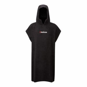 Northcore Adults Changing Robe Poncho - Black