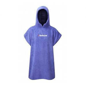 Northcore Kid's Changing Robe Poncho - Purple