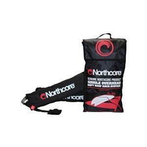 Northcore Overhead Single Surfboard Roof Rack Set