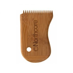 Northcore Surfboard Wax Remover Comb - Bamboo