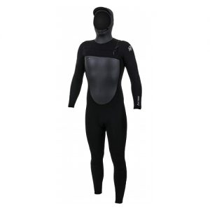 O'Neill Men's Epic 6:5:4mm Chest Zip Hooded Full Wetsuit