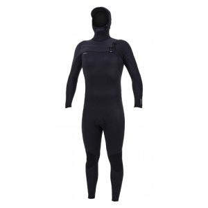 O'Neill Men's Hyperfreak 4:3mm Chest Zip Hooded Full Wetsuit