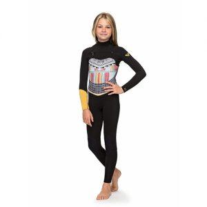 Roxy Girl's POP Surf 3:2mm Chest Zip Full Wetsuit