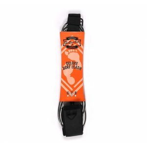 Two Bare Feet Surfboard Leash 6mm - Black