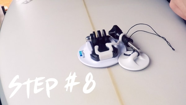 How To Install GoPro Surfboard Mount