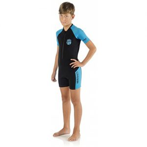 Cressi Kid's 2mm Spring Wetsuit - Blue