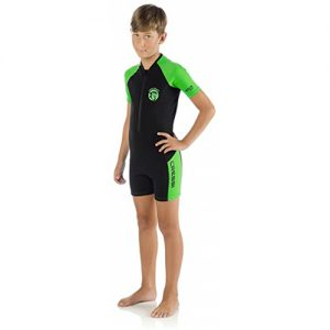 Cressi Kid's 2mm Spring Wetsuit - Green