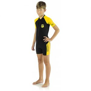 Cressi Kid's 2mm Spring Wetsuit - Yellow