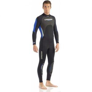 Cressi Men's 3:2mm Full Wetsuit - Blue