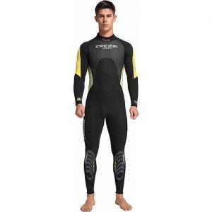 Cressi Men's 3:2mm Full Wetsuit - Yellow