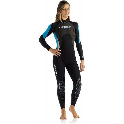 Cressi Women's 3:2mm Full Wetsuit - Blue