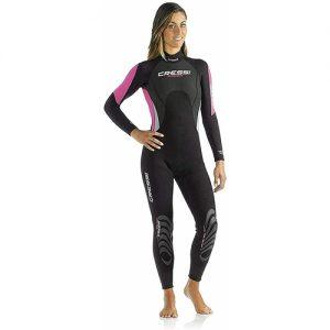 Cressi Women's 3:2mm Full Wetsuit - Pink
